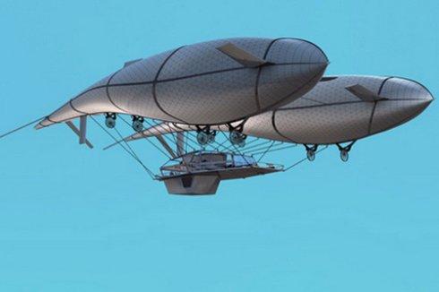 Англичанин сконструировал первый в мире летающий дом