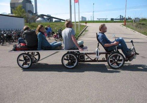 В Швеции изобрели велосипед нового типа