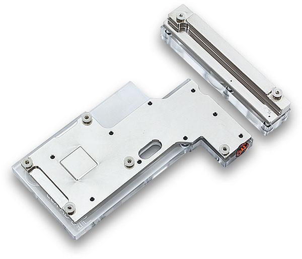 Цена набора EK-FB KIT GA X99-SOC Champion – Nickel, вне зависимости от разновидности, примерно равна 115 евро