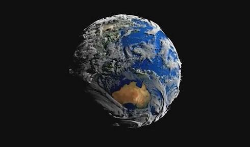 Как выглядит Земля на самом деле (ВИДЕО)