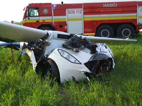 Создатели аэромобиля, который разбился в ходе испытаний, не намерены сдаваться - 3