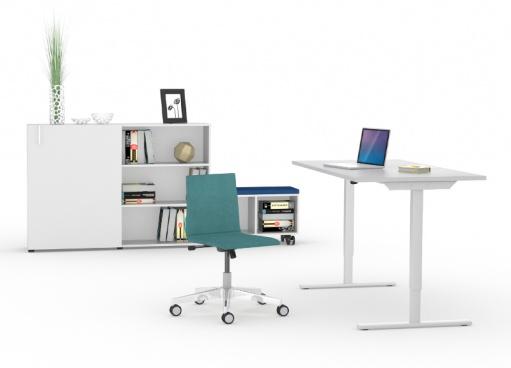 Обзор столов для работы сидя-стоя - 30