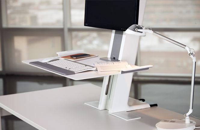 Обзор столов для работы сидя-стоя - 8