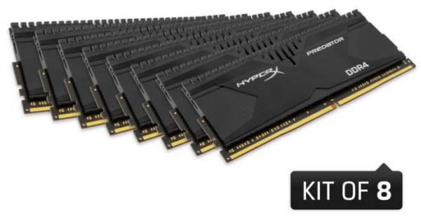 HyperX представила 128-гигабайтный комплект модулей памяти DDR4-3000 - 1