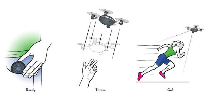 Lily: умная камера-дрон летает за тобой - 2