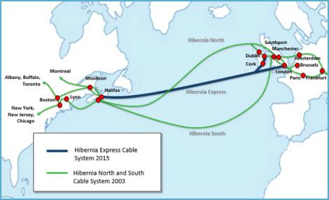 Microsoft инвестирует в трансокеанические кабели - 1