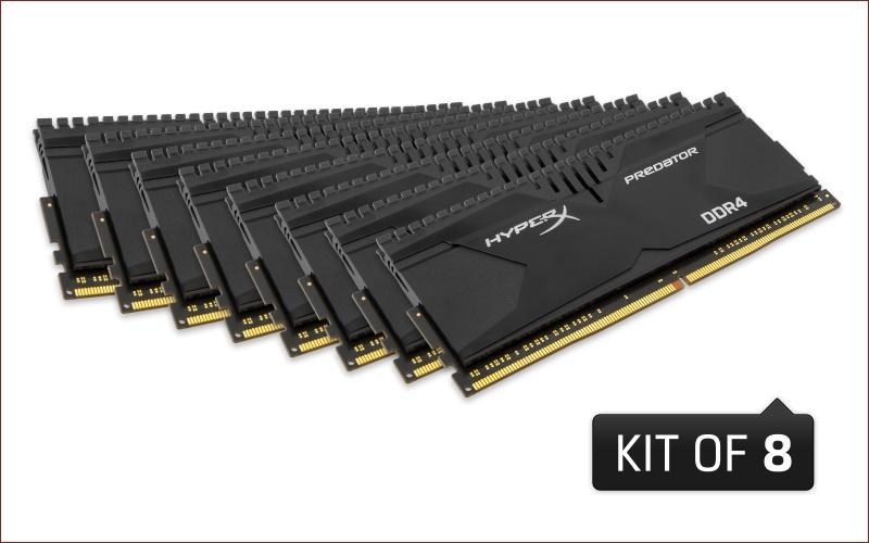 [Анонс] HyperX представляет самый быстрый комплект памяти DDR4 емкостью 128 гигабайт - 1