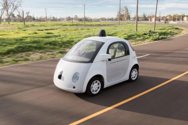 Автомобиль Google выезжает на дороги общего пользования - 1