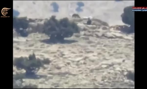 Боевое применение мультикоптера в Сирии - 5