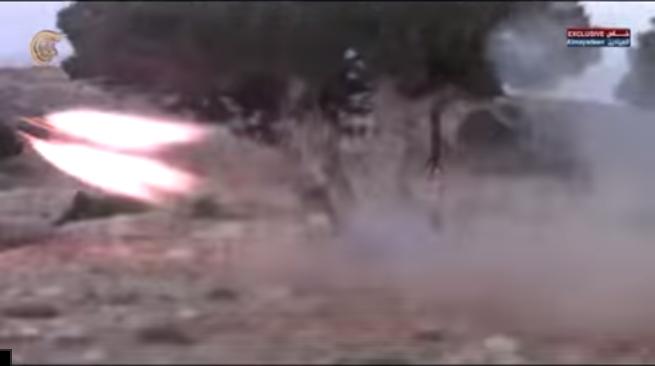 Боевое применение мультикоптера в Сирии - 8