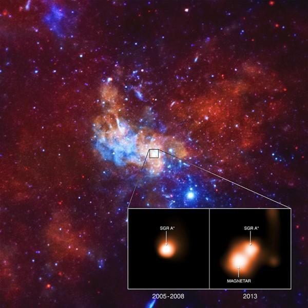 Магнетар возле сверхмассивной чёрной дыры ведёт себя странно - 1