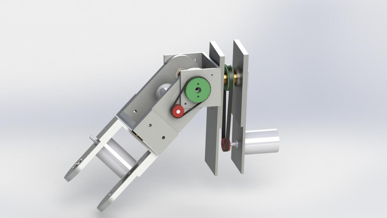 Проектирование антропоморфного манипулятора c 7 степенями - 3