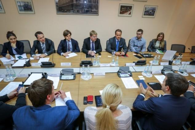 Минкомсвязи, Никифоров. Встреча с представителями компании Sailfish Holding, 14 мая 2015, Москва