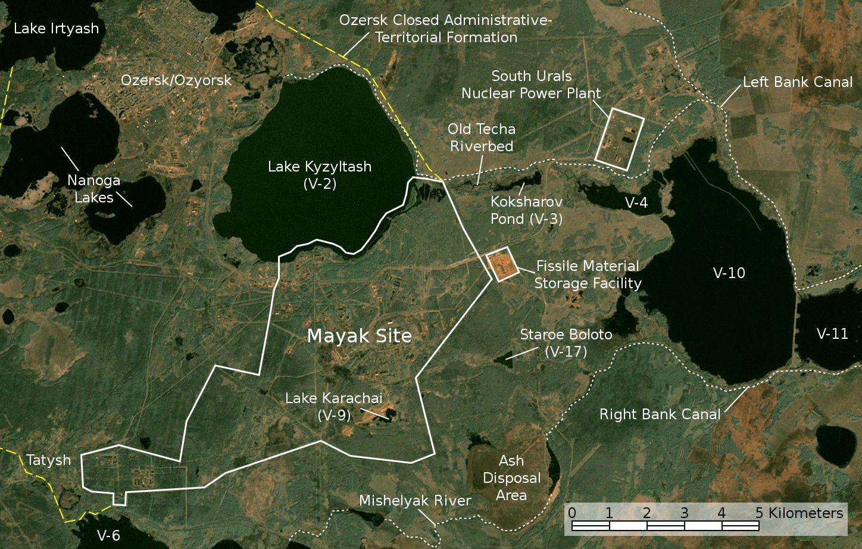 Ядерная авария на комбинате «Маяк» или «Кыштымская трагедия» - 5