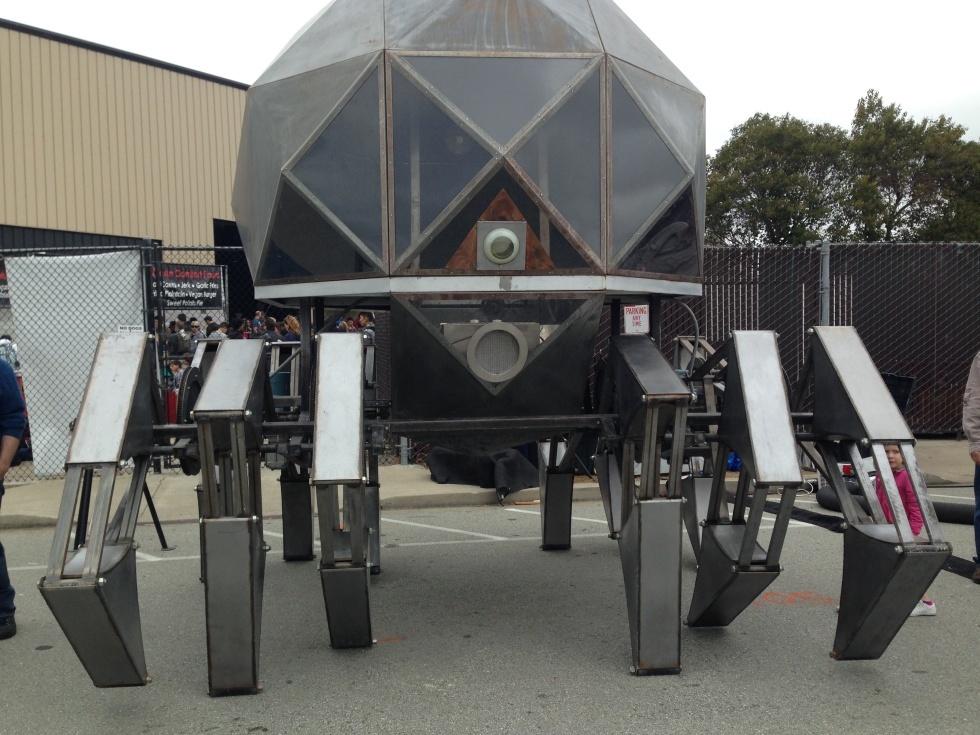 Maker Faire-2015: гигантские стреляющие роботы и другие интересные экспонаты - 9