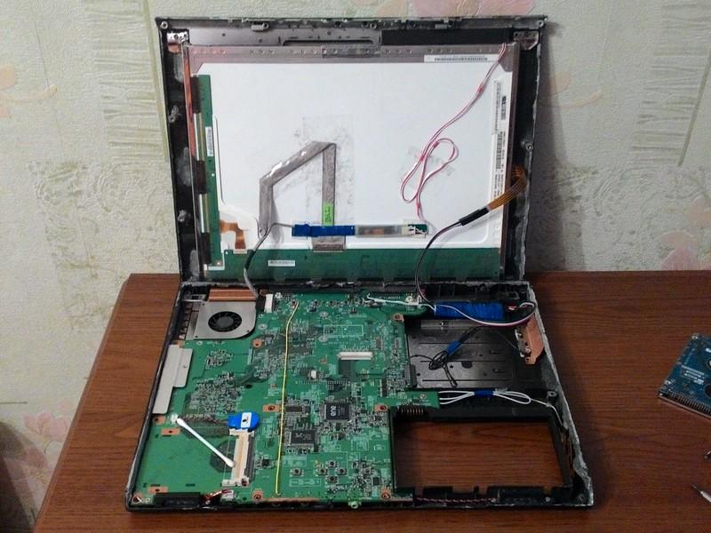 Делаем планшет из ноутбука - 17