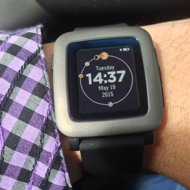 Умные часы Pebble Time: анбоксинг и первые впечатления - 20