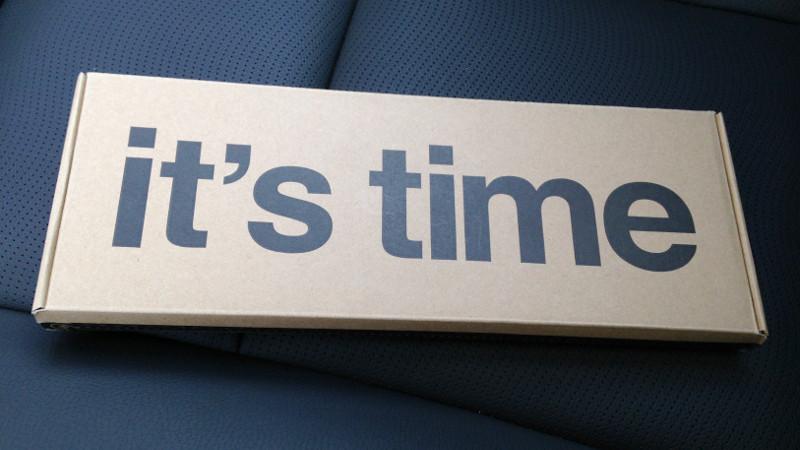 Умные часы Pebble Time: анбоксинг и первые впечатления - 1