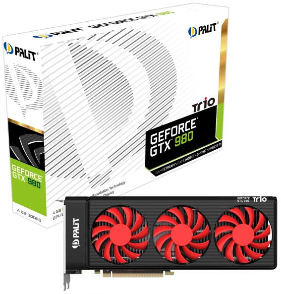 Стоить новая 3D-карта будет несколько меньше модели Palit GeForce GTX 980 JetStream