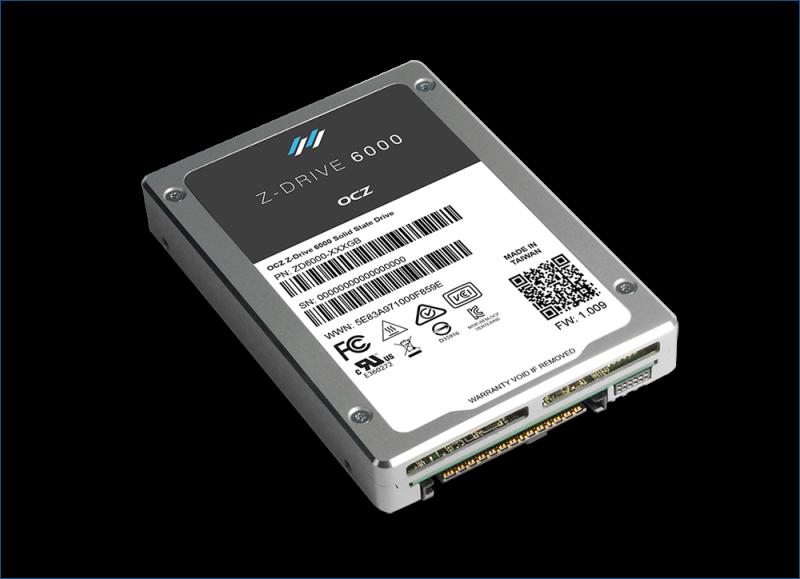 OCZ Z-Drive 6000 series — новые подробности о SSD с интерфейсом NVMe - 1