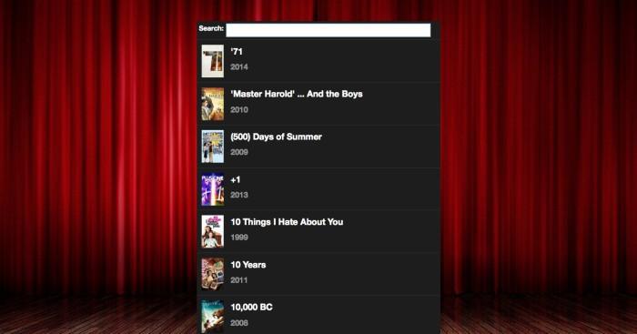Popcorn Time теперь работает в браузере - 1