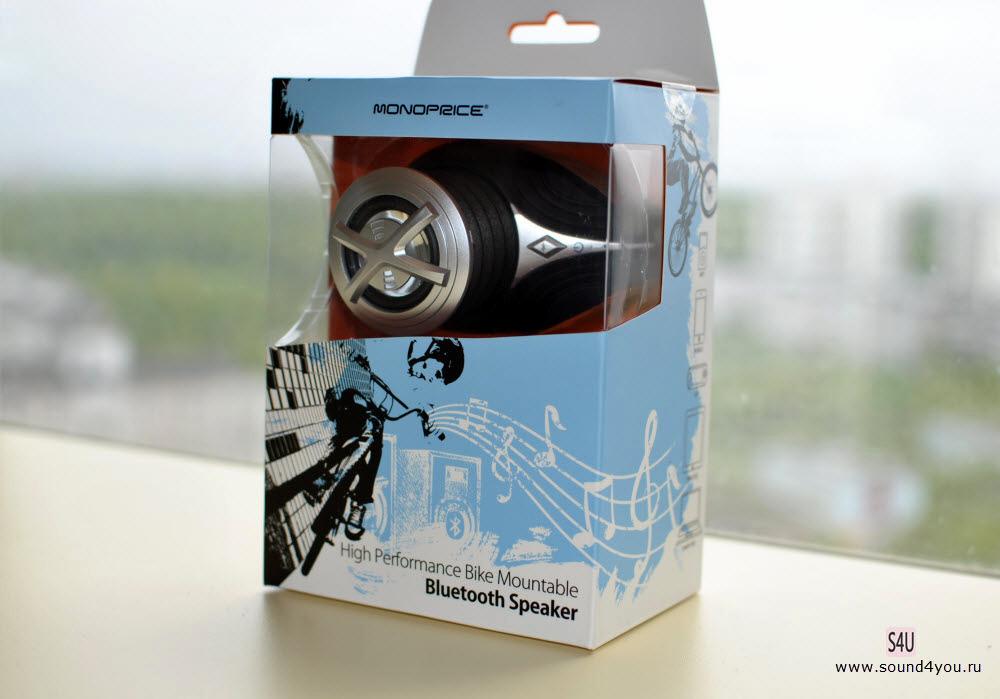 Обзор портативной Bluetooth колонки Monoprice High Performance Bike c креплением для велосипеда - 2