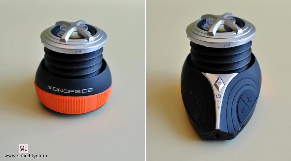 Обзор портативной Bluetooth колонки Monoprice High Performance Bike c креплением для велосипеда - 5