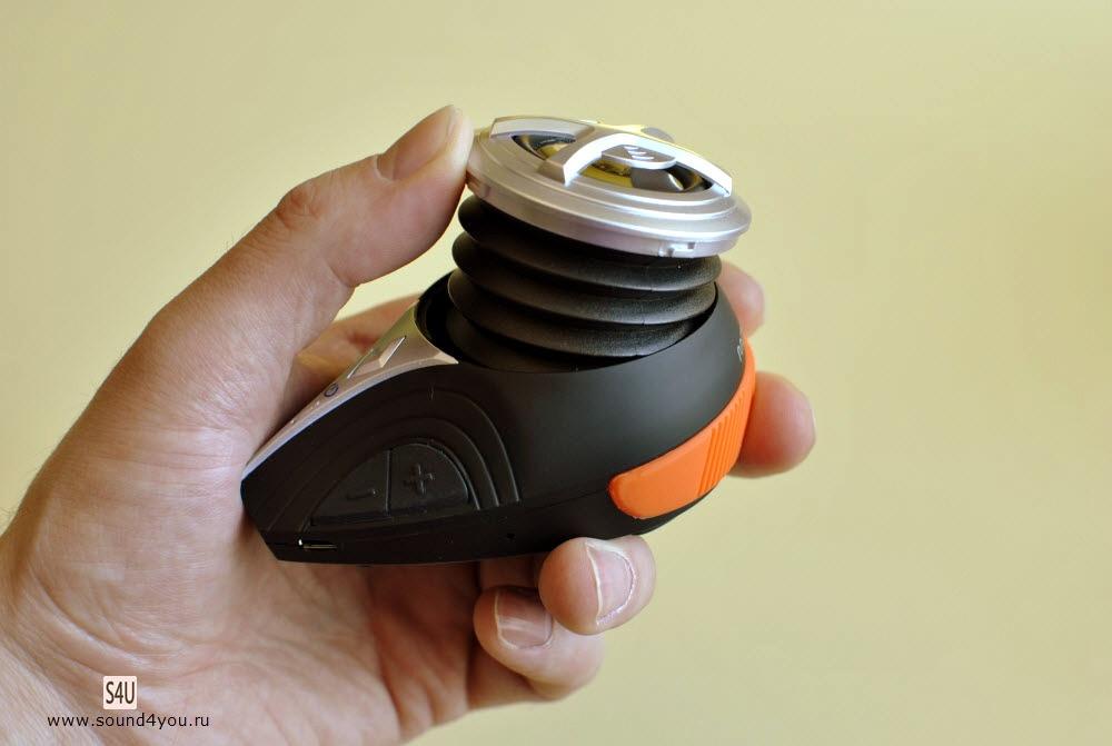 Обзор портативной Bluetooth колонки Monoprice High Performance Bike c креплением для велосипеда - 6