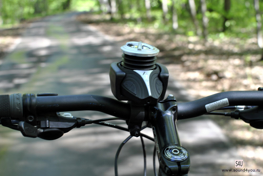 Обзор портативной Bluetooth колонки Monoprice High Performance Bike c креплением для велосипеда - 9