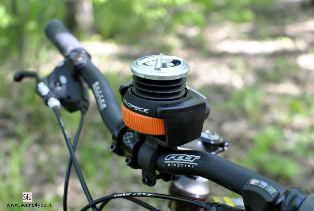 Обзор портативной Bluetooth колонки Monoprice High Performance Bike c креплением для велосипеда - 1