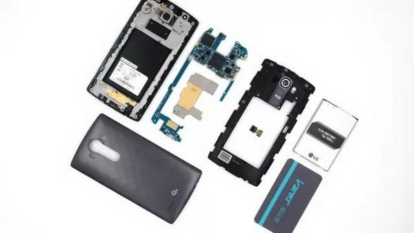 LG G4 разборка