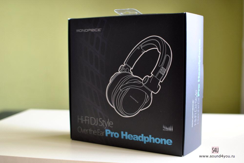 Обзор наушников закрытого типа Monoprice Premium Hi-Fi DJ MHP-839 - 2