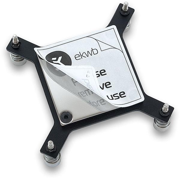 Модификация с пластиковой верхней крышкой EK-Supremacy EVO X99 – Nickel стоит 59 евро