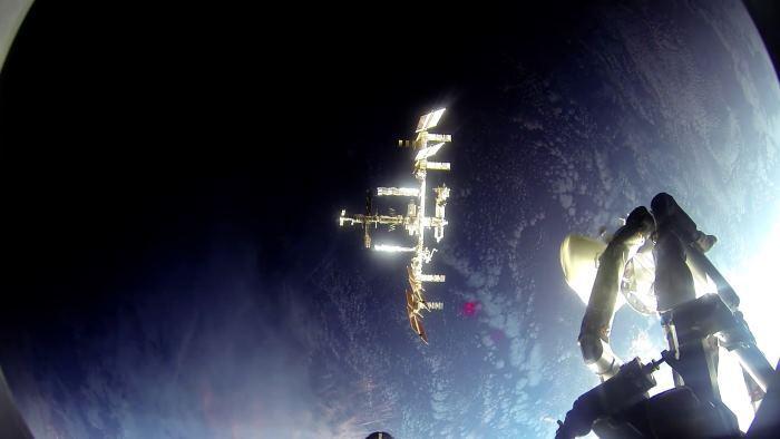 Видео стыковки «Союза» с МКС: лучше, чем «Гравитация» - 1