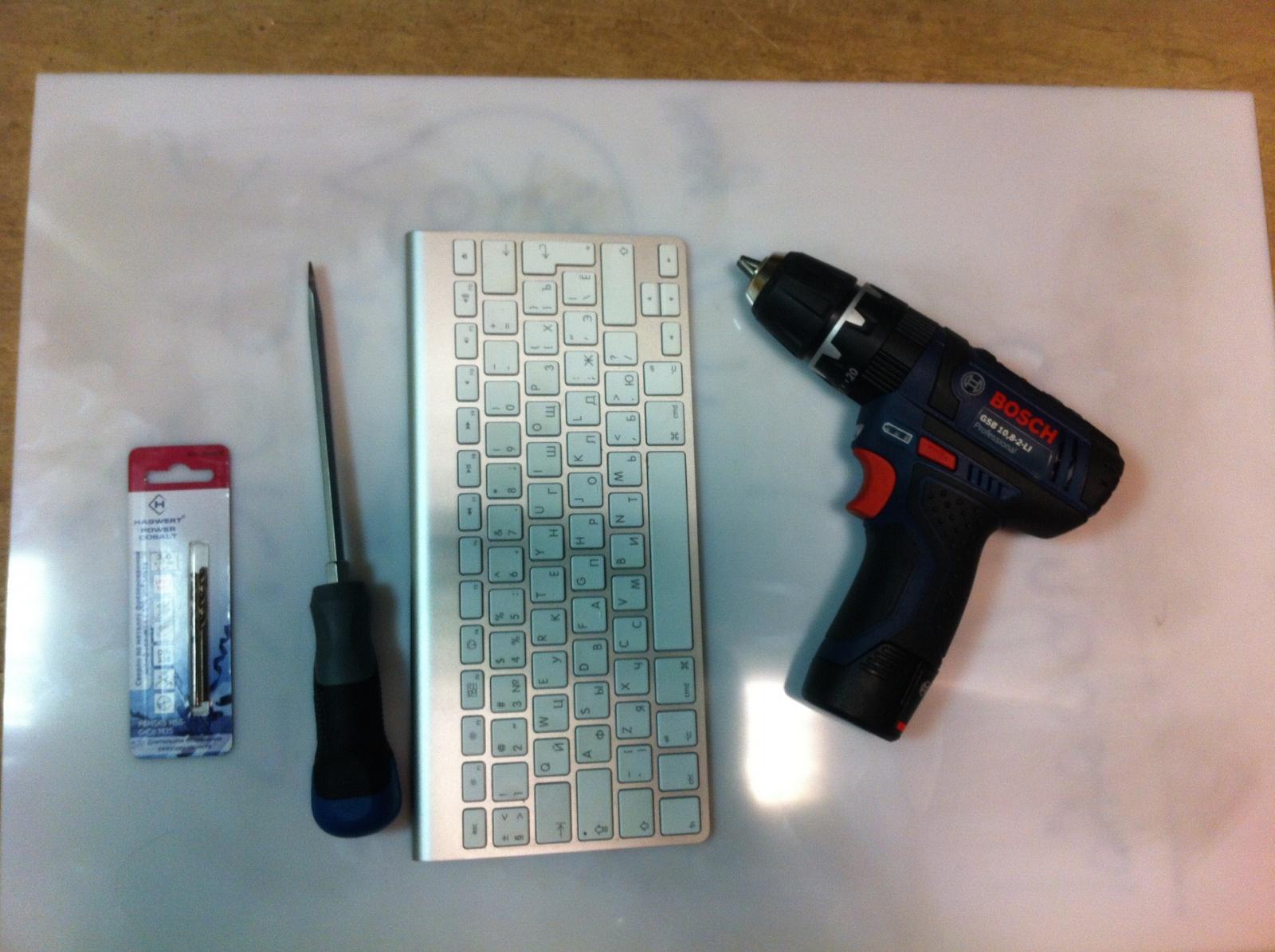 Беспроводная клавиатура Apple — безумно великолепный Life Hack - 7