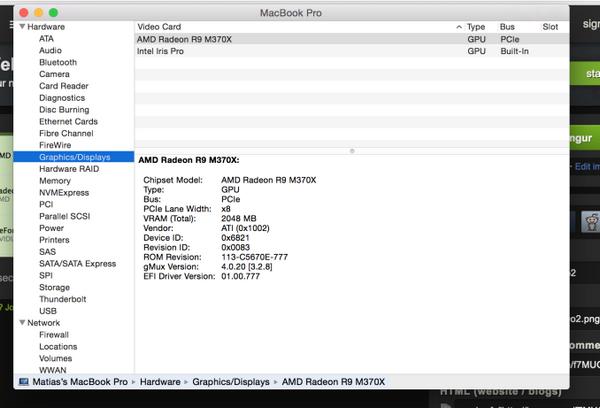 AMD Radeon R9 M370X