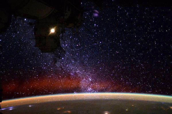 Земля и звезды: еще одно видео с борта МКС - 1
