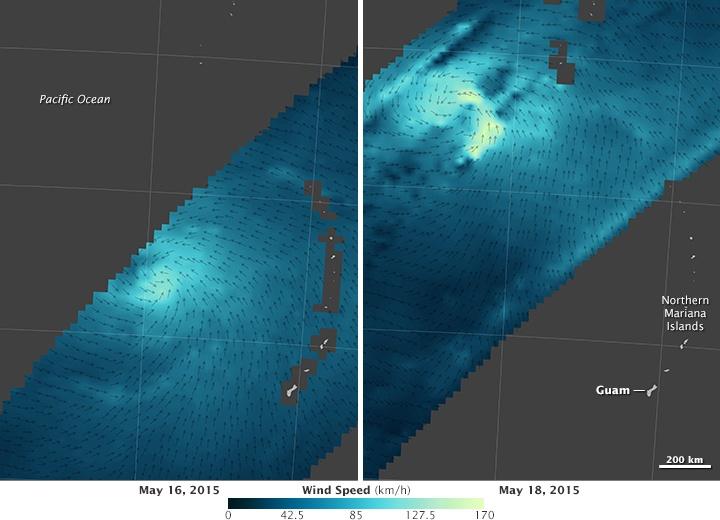 Спутник NASA заглянул в глаз тайфуна - 2