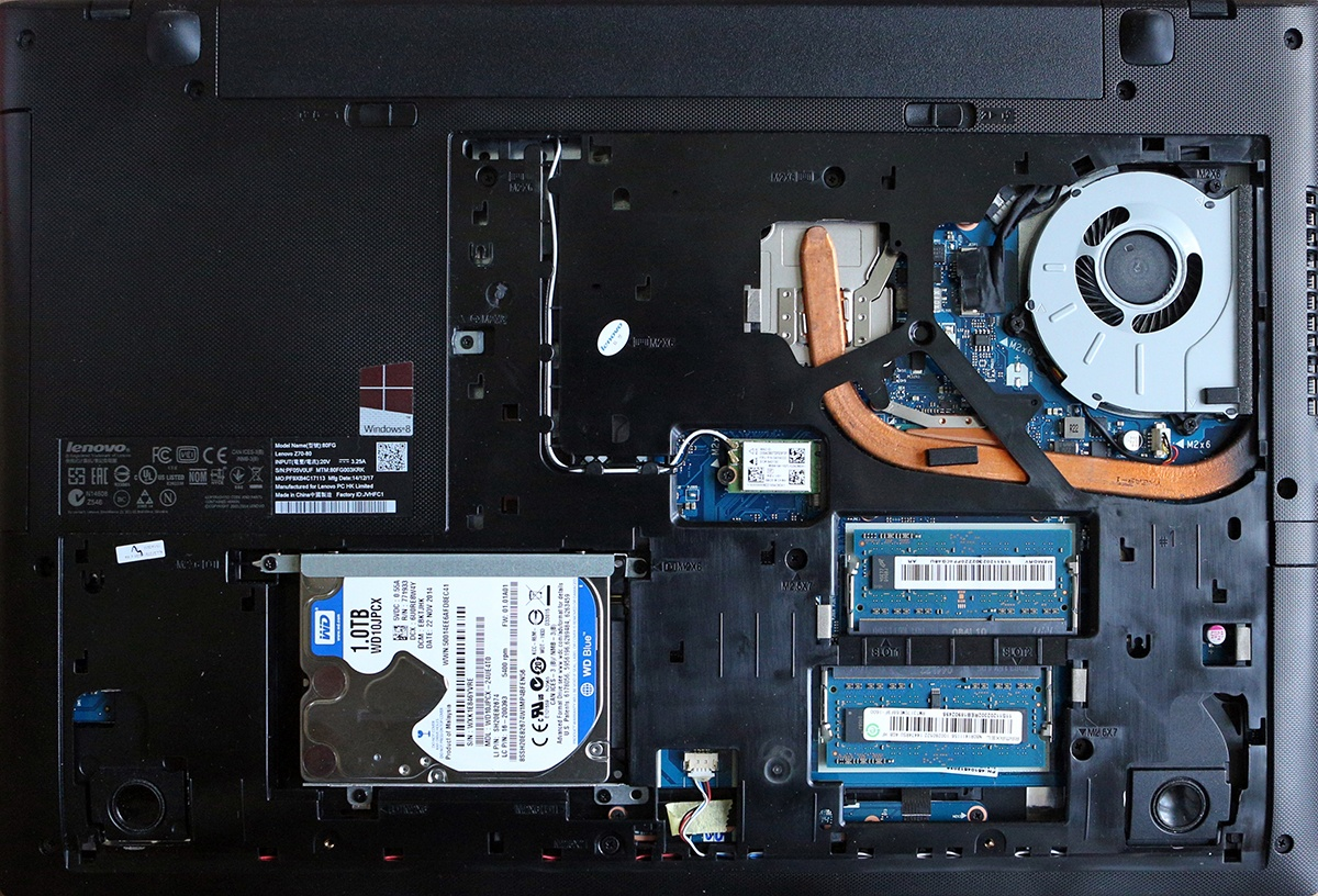 Ноутбук Lenovo Z70-80: все задачи по плечу - 16