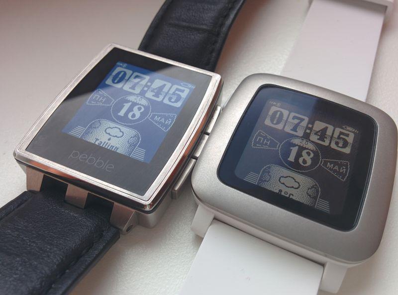 Pebble Time — первые впечатления - 2