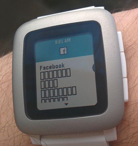 Pebble Time — первые впечатления - 3