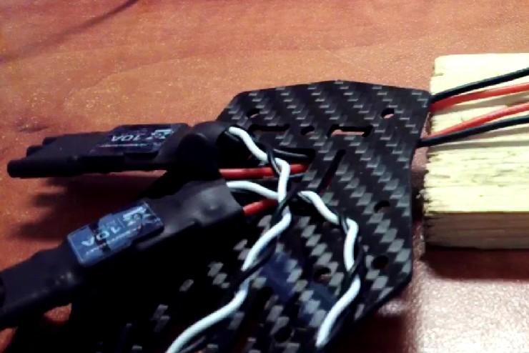 Как собрать квадрокоптер 250-го масштаба - 16