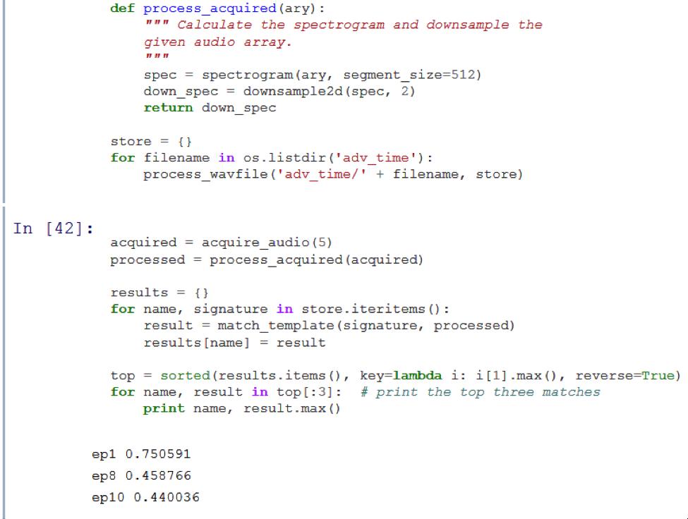 Машинная синестезия: аудиоанализ с использованием алгоритмов обработки изображений - 11