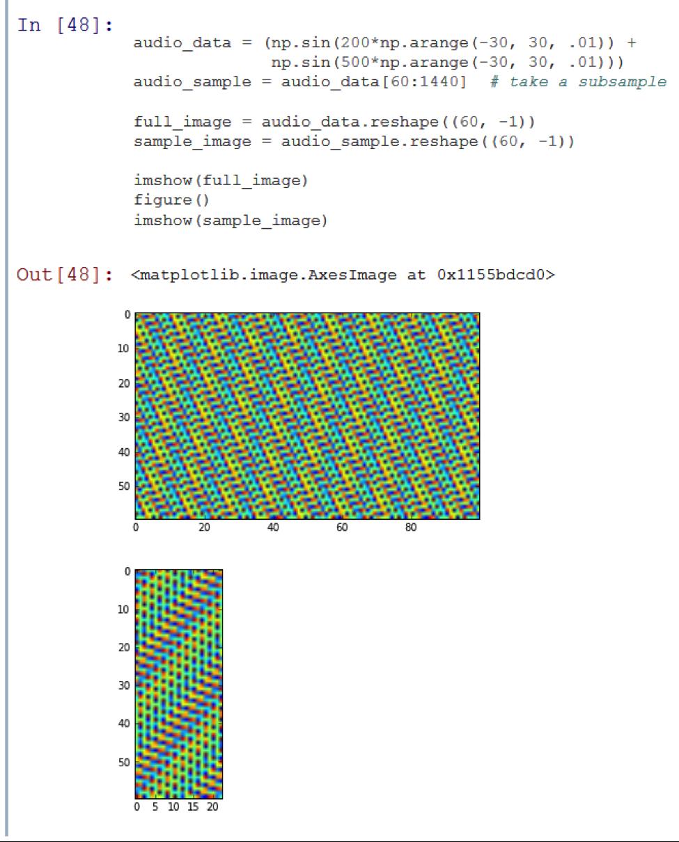 Машинная синестезия: аудиоанализ с использованием алгоритмов обработки изображений - 2