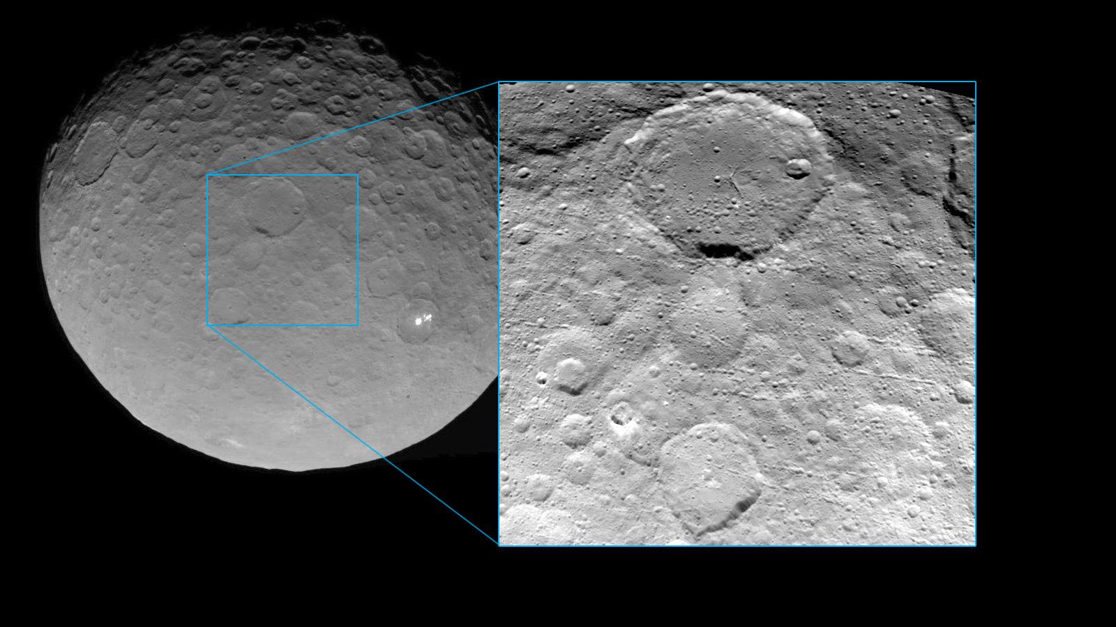 Зонд Dawn прислал новые фотографии Цереры - 1