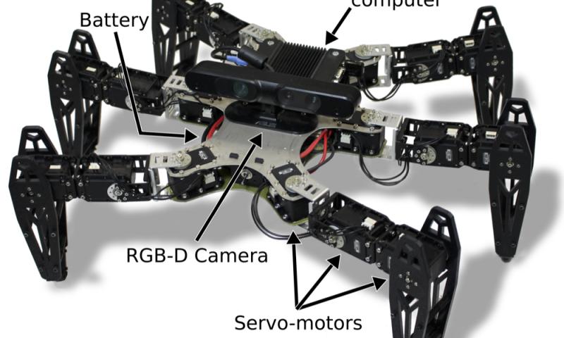 Робот адаптируется к потере конечностей - 1