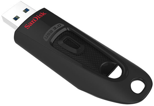Одновременно представлен накопитель SanDisk Ultra USB 3.0 объемом до 256 ГБ