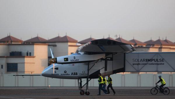 Солнечный самолет Solar Impulse 2 сделает вынужденную посадку в Японии - 1