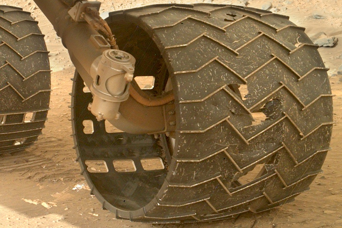 Тысяча дней на Марсе: неисправности и сбои марсохода Curiosity - 1
