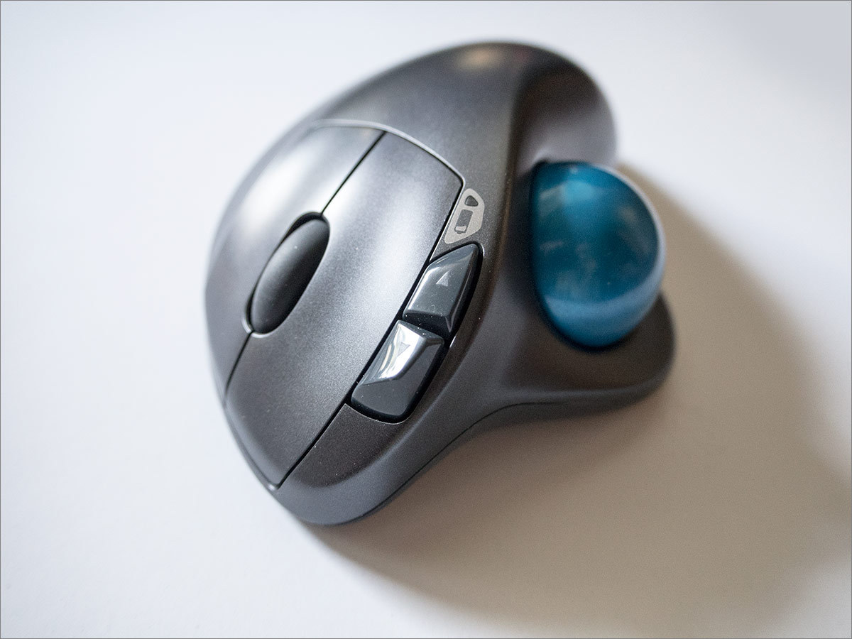 Мышь наоборот: Logitech M570 - 11